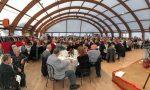 Edizione record per il pranzo di Natale: oltre 400 i presenti