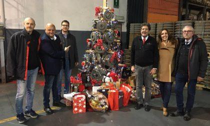 Cooperativa Fonderia Dante: Albero di Natale in ghisa nello stabilimento ex Ferroli
