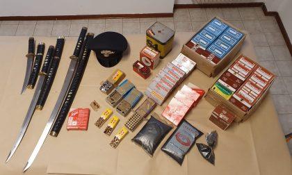 72enne denunciato per detenzione abusiva di armi e munizionamento