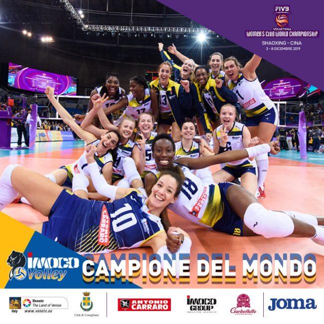 Imoco Conegliano è campione del mondo (GALLERIA FOTOGRAFICA)