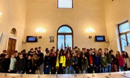 Gemellaggi, De Marzo ha ricevuto 65 ragazzi del Quadri e della Vicenza High School