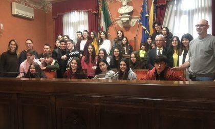 Gruppo di studenti spagnoli in visita a Schio
