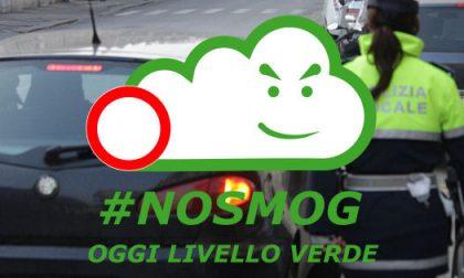 NoSmog: confermato il livello verde almeno fino a lunedì 24 febbraio