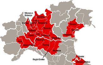 Emergenza Coronavirus Veneto paralizzato: Venezia, Padova e Treviso zone rosse