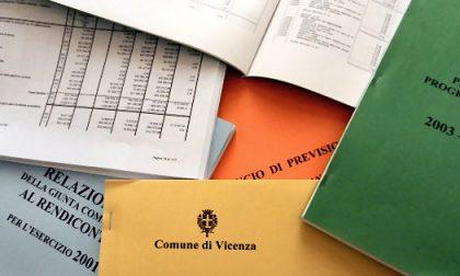 Bilancio consuntivo Vicenza, pari a 2,4 milioni di euro l'avanzo di amministrazione