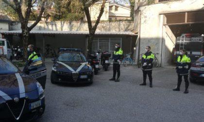 Sette le persone denunciate su 332 controlli eseguiti ieri dalla polizia locale