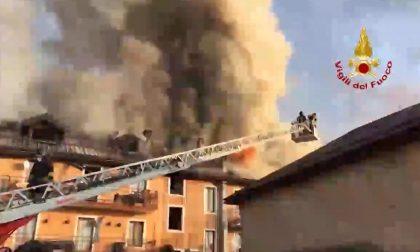 Anziano muore carbonizzato nell'incendio della sua abitazione