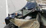 Incidente a Cogollo del Cengio, si ribalta l'Apecar: 18enne ferito
