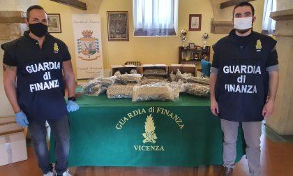 Maxi sequestro, arrestati in flagranza due serbi: nascondevano 78 chili di marijuana