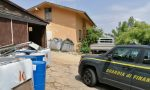 Ecocentro abusivo sui Colli Berici, tonnellate di rifiuti sparsi nel cortile di casa: un indagato