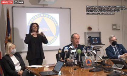 """Nuova ordinanza Veneto, Zaia: """"Da lunedì stop obbligo mascherine"""""""