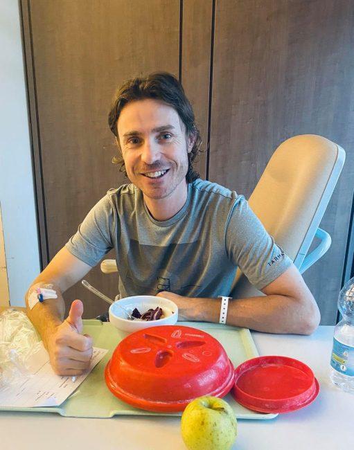 """Damiano Cunego in ospedale per infezione cerebrale: """"Serve un periodo di cura"""""""