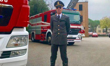 Vigili del fuoco Vicenza: il nuovo comandante è l'architetto Giuseppe Costa