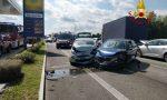 Tamponamento a catena a Bolzano Vicentino, 7 veicoli coinvolti: ferita una 26enne