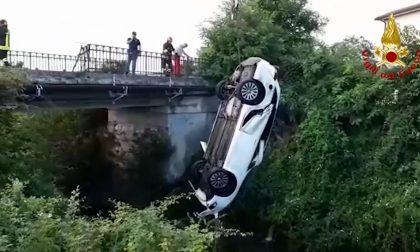 Tragedia Vicenza, auto finisce nel torrente Orolo: morto il conducente – VIDEO
