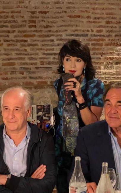 Oliver Stone a Bassano del Grappa! E Toni Servillo legge la sua autobiografia