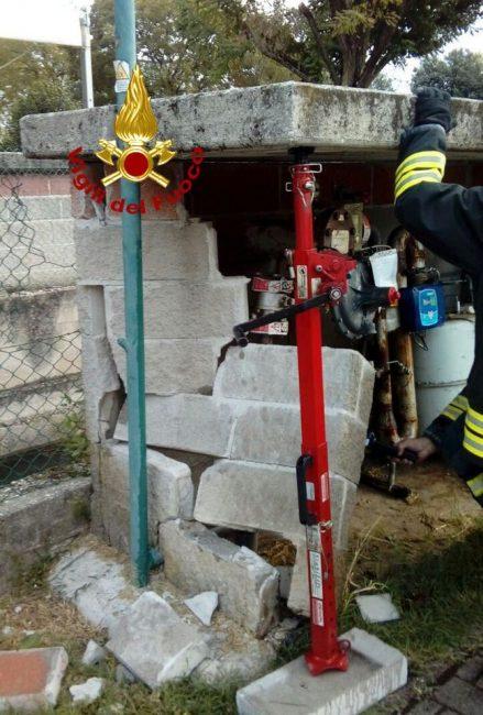 """Fuga di gas a Rosà, """"colpa"""" della manovra sbagliata di un furgone"""