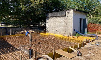 Creazzo, proseguono i lavori per il nuovo serbatoio di Masare