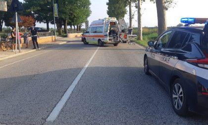 Incidente a Thiene, scontro tra auto e moto: 17enne finisce al Pronto soccorso