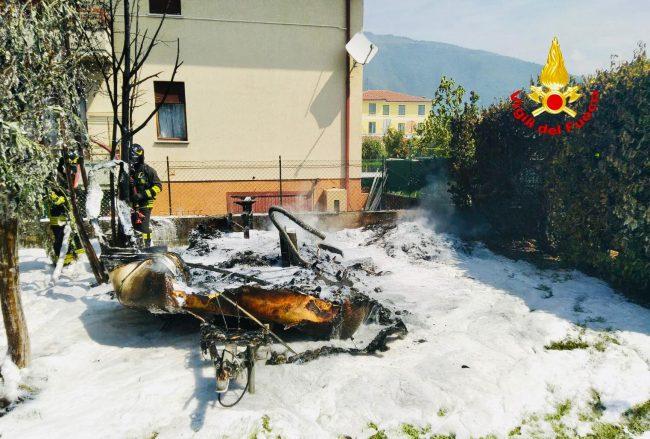 Vigili del fuoco Schio: distaccamento all'avanguardia nello spegnimento incendi - FOTO