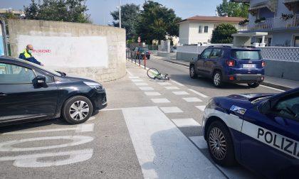 Studente investito in bicicletta a Thiene: persa la falange di un dito!