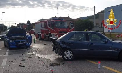 Incidente Chiampo, scontro tra tre auto sulla SP43: due feriti – VIDEO