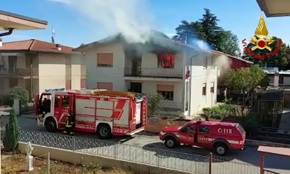 Marano Vicentino, appartamento in fiamme: madre e figlia intossicate – VIDEO