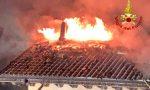 Incendio a Valli del Pasubio: in fiamme la copertura della casa