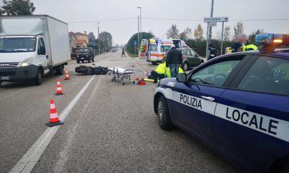 Incidente a Thiene, mancata precedenza alla moto: ferito centauro 34enne