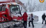 Scialpinista di Asiago si infortuna mentre scende dal Monte Melette: arriva il gatto delle nevi
