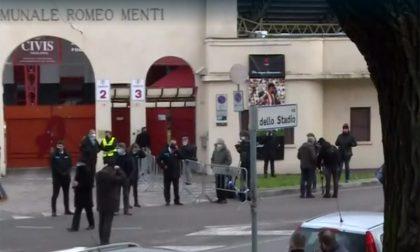 Paolo Rossi, aperta camera ardente allo stadio di Vicenza