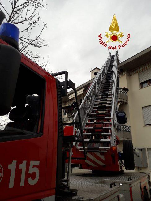 Incendio canna fumaria a Montegalda, intervengono i Vigili del fuoco