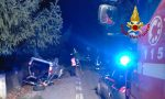 Grave incidente tra Bagnolo e Lonigo, auto rovesciata: tre feriti