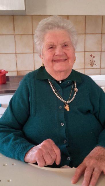 Domani compie 100 anni Dina Alberton, nonna del vicesindaco Valentina Fietta