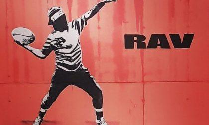 """Allo stadio di rugby """"Nelson Mandela"""" il murales realizzato da Evyrein e Shife VHRO"""