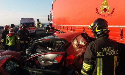 Doppio incidente in A4 tra Montecchio e Montebello: cinque feriti - FOTO