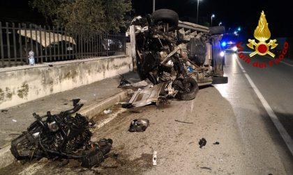 Incidente a Mussolente: perde il controllo del furgone e si ribalta, ferito un 49enne – FOTO