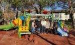 Per i bambini della scuola d'infanzia Santissima Trinità arriva una nuova giostra