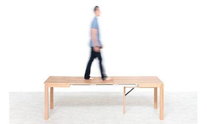 Problemi di spazio? I tavoli trasformabili che cambiano il tuo living