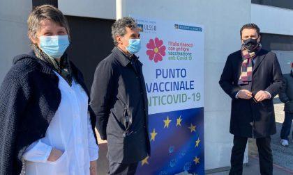 Nuovo punto vaccini in Fiera partito con il primo turno degli 80enni vicentini