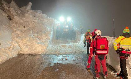 Valanga sul Grappa, nessun ferito: aperto un varco per salvare centinaia di escursionisti