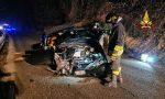 Incidente a Conco: perde il controllo dell'auto e finisce contro il muro