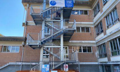 Scuola Scamozzi, ecco le immagini della nuova scala antincendio