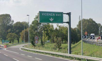 A4, chiude lo svincolo di Vicenza est per lavori di manutenzione