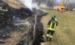 Le foto del doppio intervento dei Vigili del fuoco nelle campagne vicentine