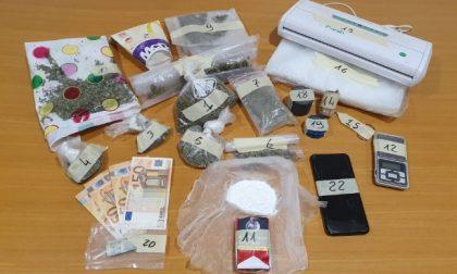 Spaccio di droga, arrestato 34enne residente a Sovizzo
