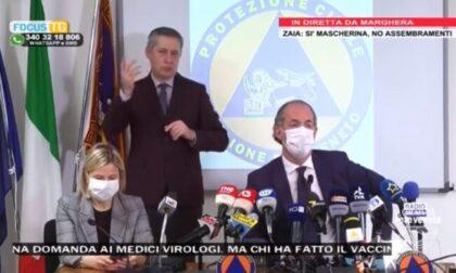 """Zaia: """"Il Veneto? Al limite della zona arancione""""   +1861 positivi Covid   Dati 25 marzo 2021"""