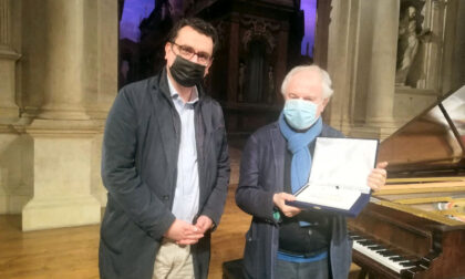 Il pianista András Schiff in campo per sostenere candidatura di Vicenza a Capitale della cultura