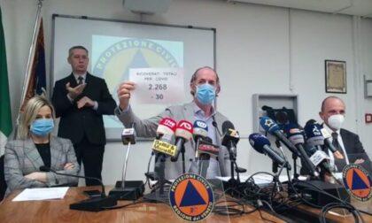 """Covid, Zaia: """"Somministriamo AstraZeneca sopra i 60 anni""""  +1241 positivi   Dati 8 aprile 2021"""
