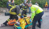 L'escursione nella zona dei castelli di Giulietta e Romeo finisce male, 70enne cade rovinosamente